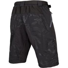 Endura Hummvee II Shorts with Liner Men, black camouflage